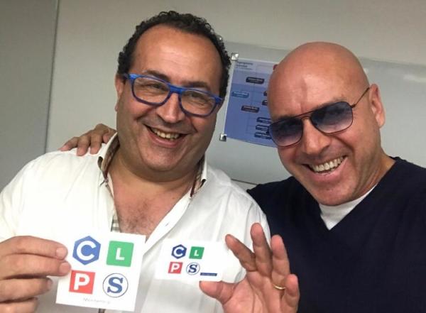 con Isidoro Bonarrigo