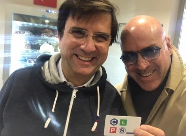 con Gaetano Finocchiaro