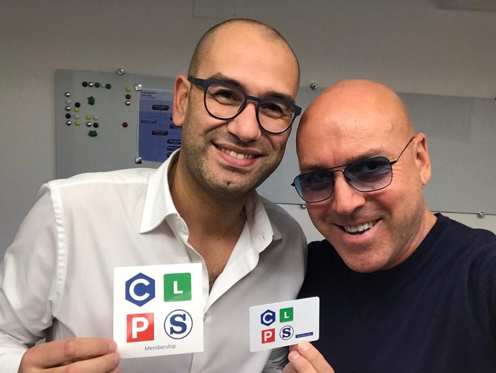 con Claudio Messina